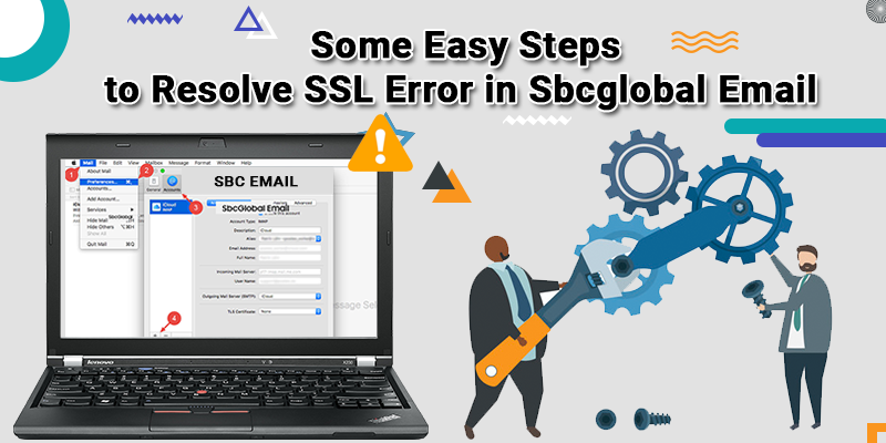 Resolve SSL Error in SBCGlobal