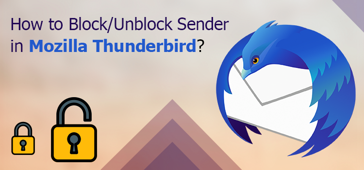 Block Unblock Sender in Mozilla Thunderbird